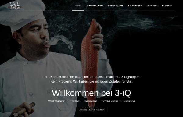 Vorschau von www.3-iq.de, 3-iQ Agentur GbR