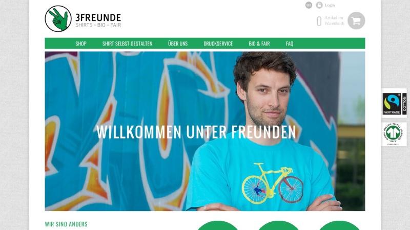 www.3freunde.de Vorschau, 3FREUNDE, 3f fulfilment ag
