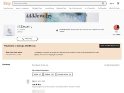 443jewelry Etsy coupon codes April 2019