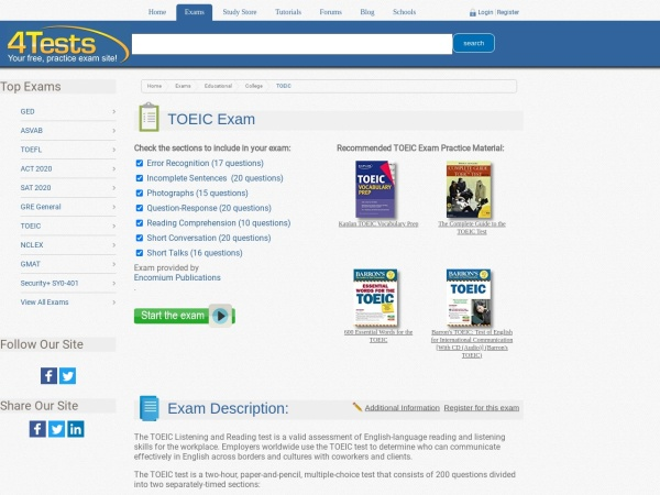 http://www.4tests.com/exams/examdetail.asp?eid=74