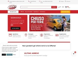 screenshot 500mania.it