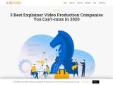 3 Best Explainer Video Production Companies You Can't-miss in 2020 : Explainer Video Production