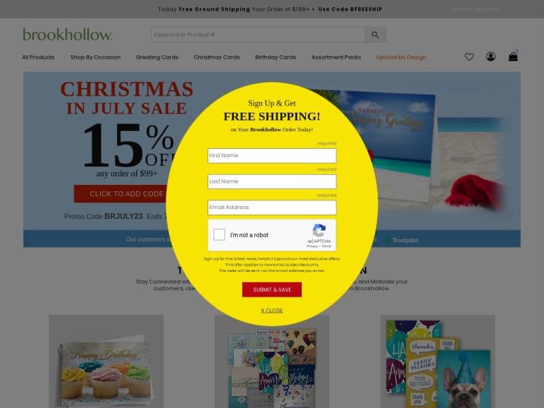 Brookhollow Cards screenshot