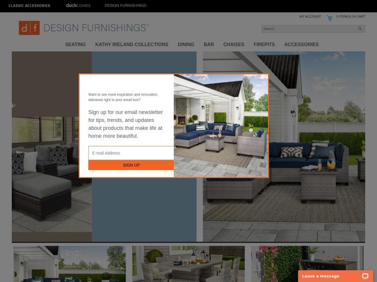 Design Furnishings screenshot