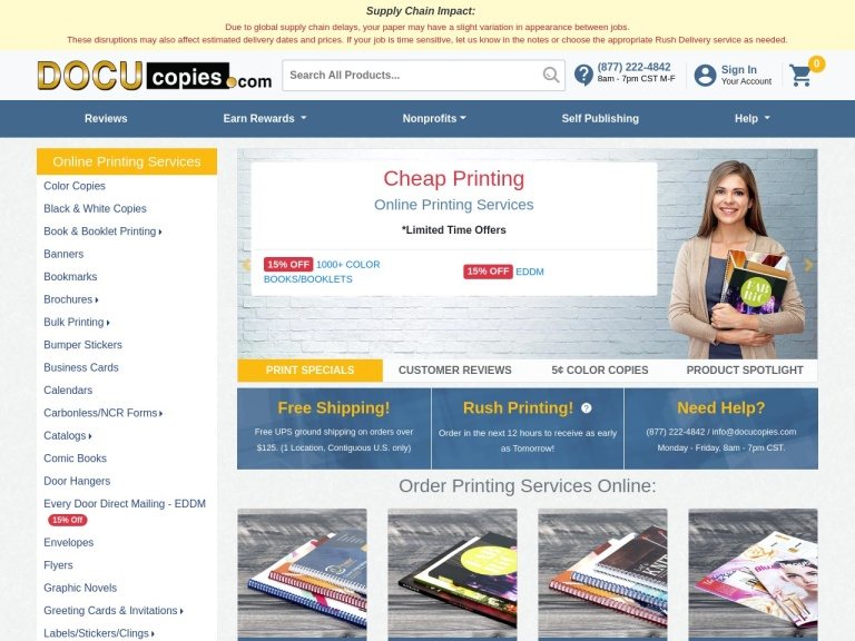 Docucopies Coupon Codes & Promo codes