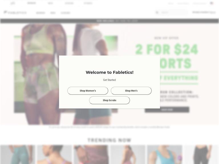 Fabletics - North America screenshot