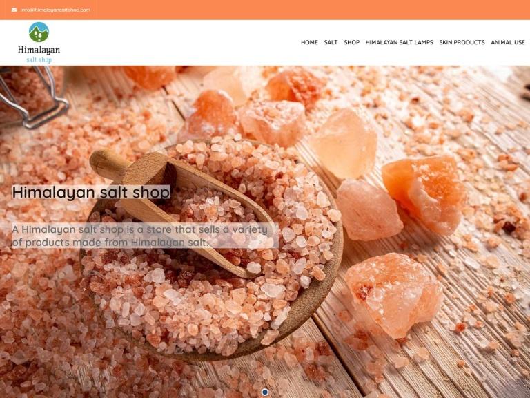 Himalayan Salt Shop screenshot