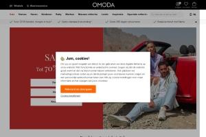 Schermafbeelding Omoda.nl