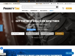 Priority Tire Outlet screenshot