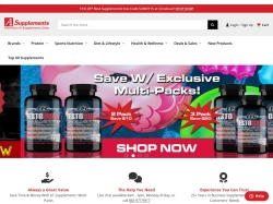 A1Supplements.com screenshot