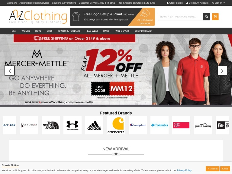 A2ZClothing Coupon Codes
