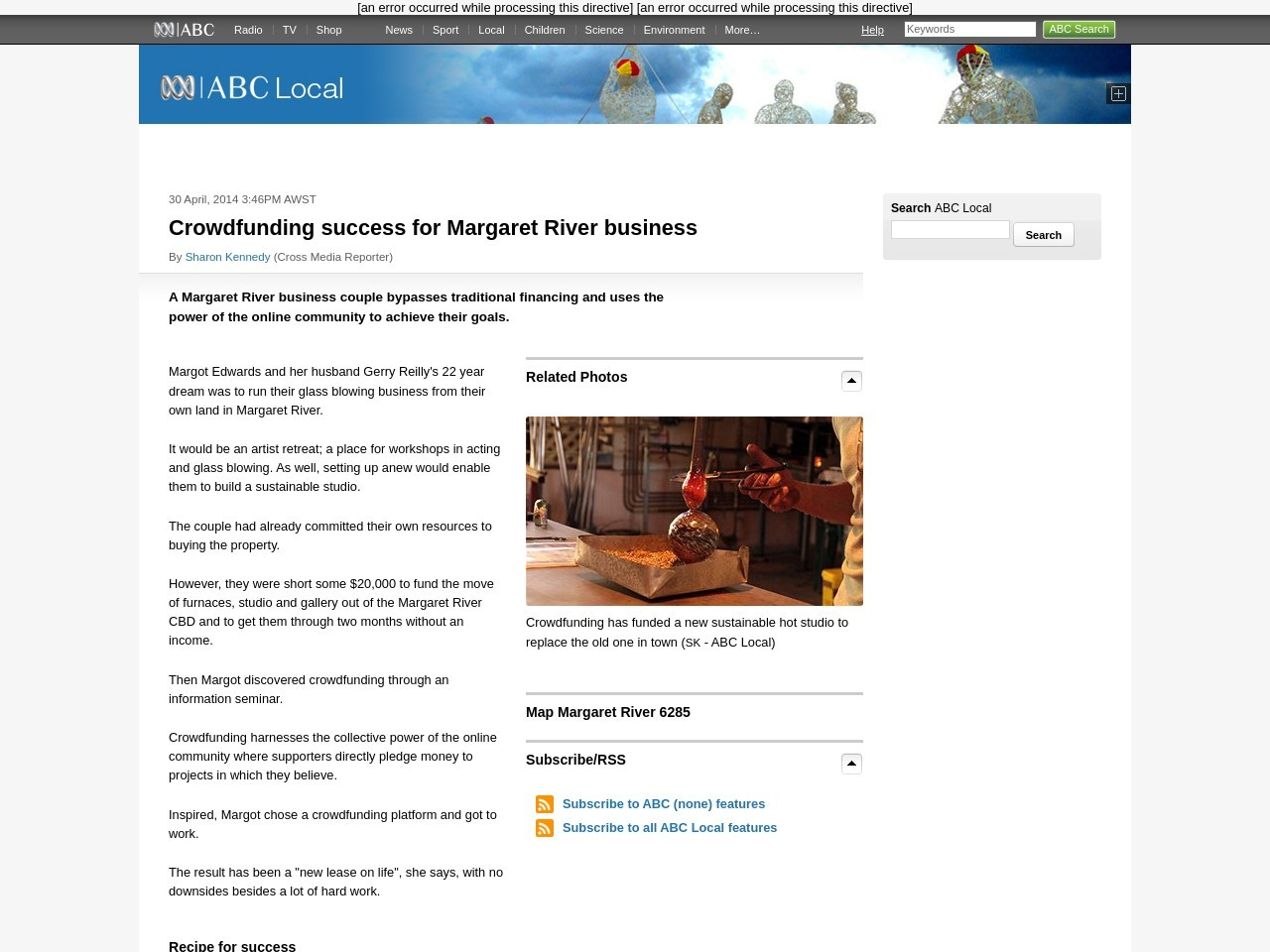 Crowdfunding success for Margaret River business