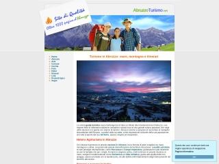 screenshot abruzzoturismo.net