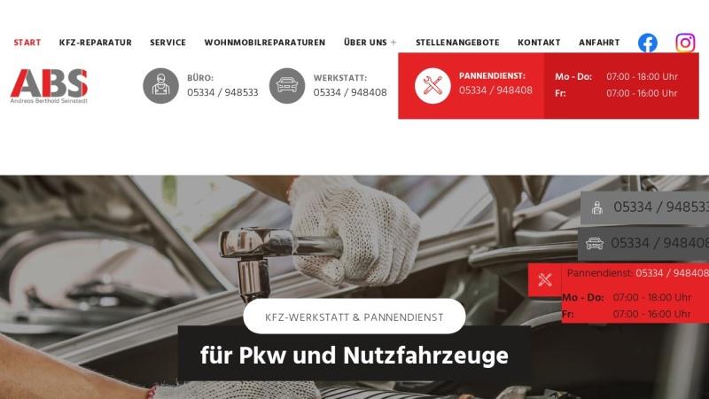 www.abs-seinstedt.de Vorschau, ABS Andreas Berthold Seinstedt