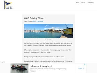 Screenshot for abyc.co.za