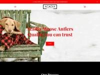 Acadiaantlers.com Coupon Codes & Discounts