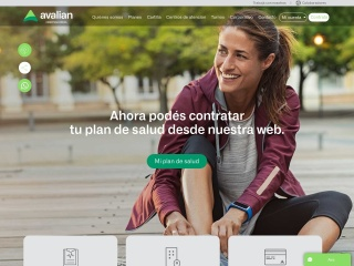 Captura de pantalla para acasalud.com.ar