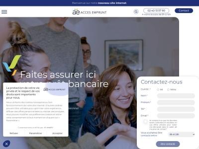 Assurance emprunteur avec Accès Emprunt
