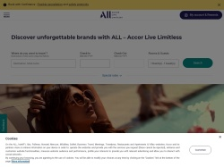 Accorhotels.com Europe & Row screenshot