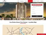 Ace Divino Apartments Location Map