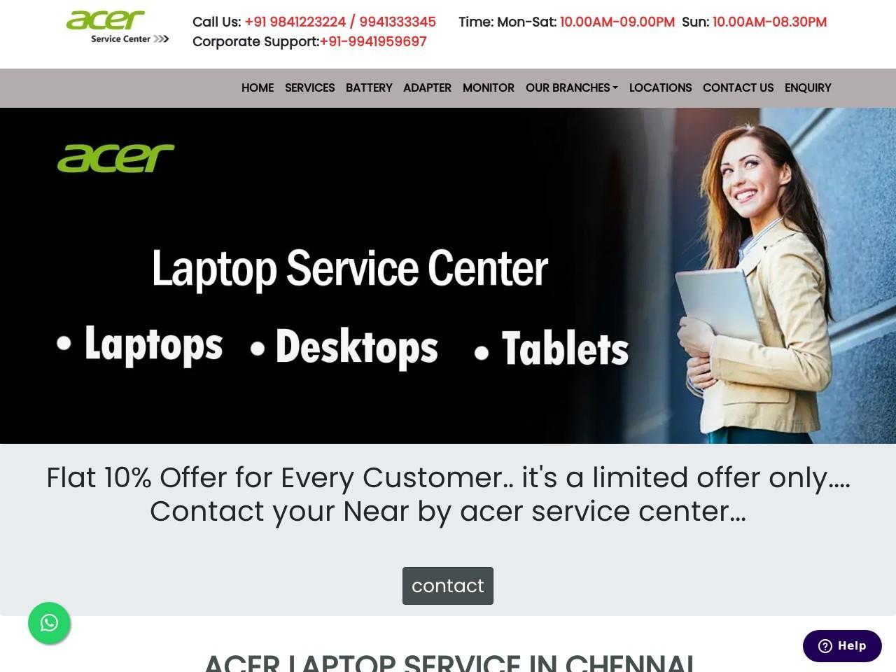 acer service center Tambaram|Repair Centre|customer support – Tambaram