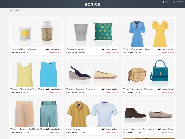 ACHICA Free Delivery screenshot