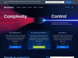 Acronis screenshot