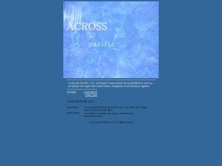 acrossthepacific.co.jp用のスクリーンショット