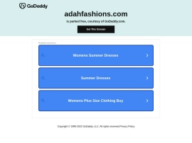 Online store Adahfashions