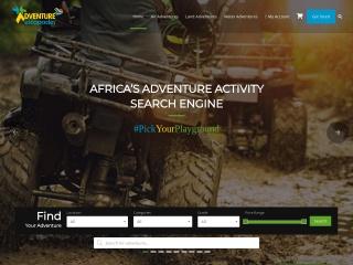 Screenshot for adventureescapades.co.za