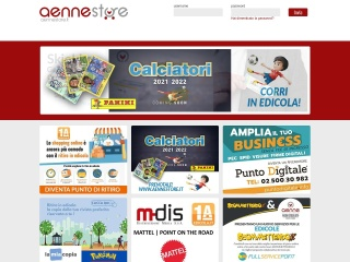 screenshot aennestore.it