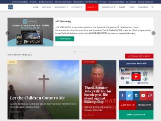 Screenshot for afa.net