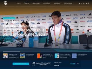 Captura de pantalla para afa.org.ar