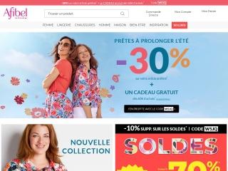 Capture d'écran pour afibel.fr