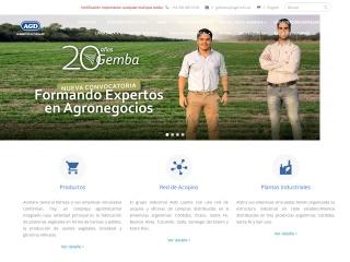 Captura de pantalla para agd.com.ar