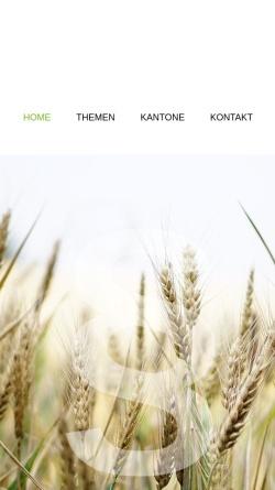 Vorschau der mobilen Webseite www.agrarrecht.ch, Agrarrecht.ch