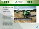 DISTRIBUTION FOR COMBINE HARVESTERS