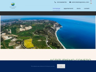 screenshot agriturismoconero.it