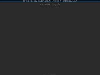 Captura de pantalla para aguaazul.com.mx