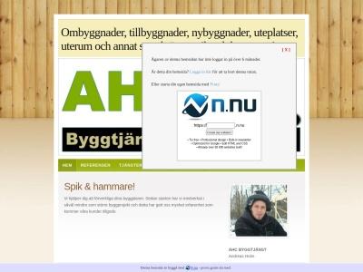www.ahcbyggtjanst.se