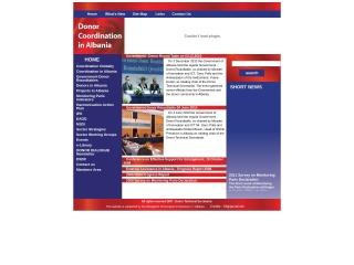 Foto ekrani për aidharmonisation.org.al