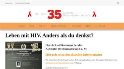 www.aidshilfe-westmuensterland.de Vorschau, Aids-Hilfe Ahaus und Westmünsterland e.V.