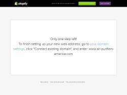 Air Purifiers America screenshot