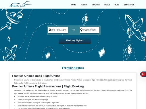 Frontier Airlines Cheap Flight +1-844-414-9223