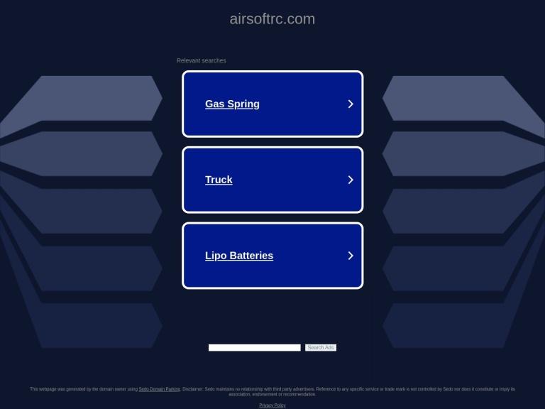 Airsoftrc screenshot