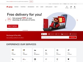 Online store Airtel Recharge