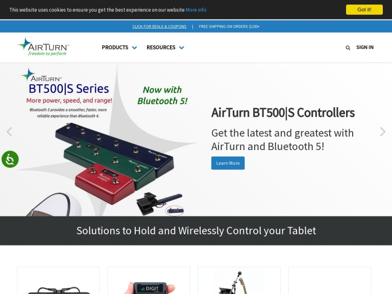 Airturn Coupon Codes