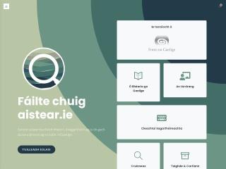 Screenshot for aistear.ie