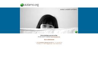 screenshot aiutiamo.org