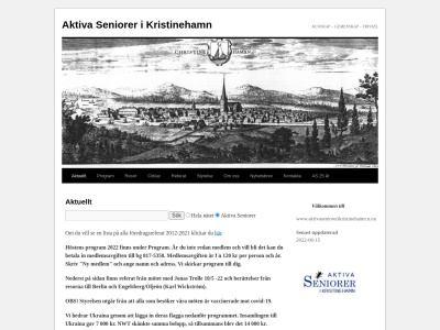 www.aktivaseniorerikristinehamn.n.nu